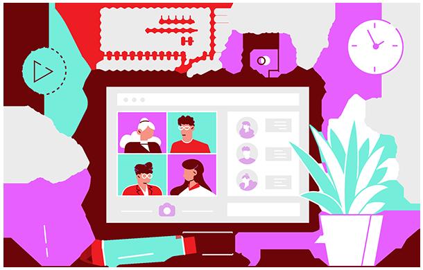 Online client meeting